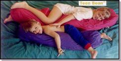 Teen Bean Body Pillow & Cover