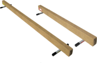Low Wood Balance Beam - 8' Long