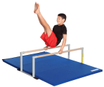 Low Parallel Bars and Mat Combo for Kids