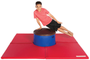 Ultra Dome Combo - Pommel Horse Mushroom Trainer and Mat Combo