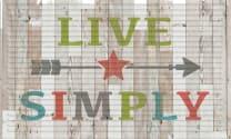 3D Impressions Mat - Live Simply