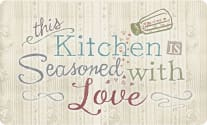 Cushion Comfort Kitchen Mat - Seasoned With Love