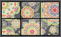Masterpiece Mat - Bohemian Arabesque