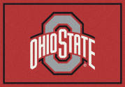 Ohio State Buckeyes (Gray O) - Sports Team Rug