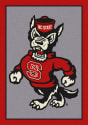 North Carolina State Wolfpack (Mascot) - Sports Team Rug