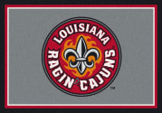 Louisiana (Lafayette) Ragin Cajuns - Sports Team Rug