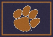 Clemson Tigers (Horizontal) - Sports Team Rug