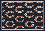 Chicago Bears (Blue Background) - Sports Team Rug