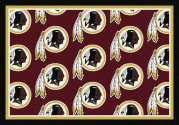 Washington Redskins (Garnet Background) - Sports Team Rug