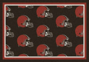 Cleveland Browns (Brown Background) - Sports Team Rug