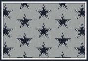 Dallas Cowboys (Gray Background) - Sports Team Rug