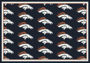 Denver Broncos (Blue Background) - Sports Team Rug