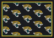 Jacksonville Jaguars (Black Background) - Sports Team Rug