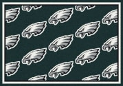 Philadelphia Eagles (Green Background) - Sports Team Rug