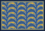 Los Angeles Chargers (Blue Background) - Sports Team Rug