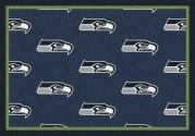 Seattle Seahawks (Blue Background) - Sports Team Rug
