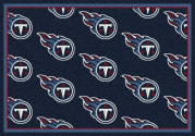 Tennessee Titans (Blue Background) - Sports Team Rug
