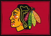 Chicago Blackhawks - Sports Team Rug