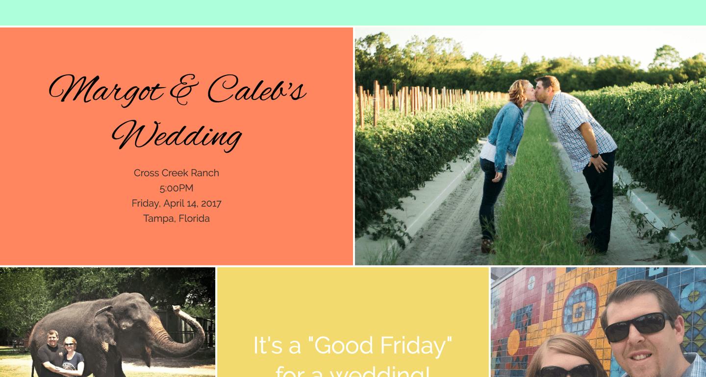 Margot and Caleb's Wedding