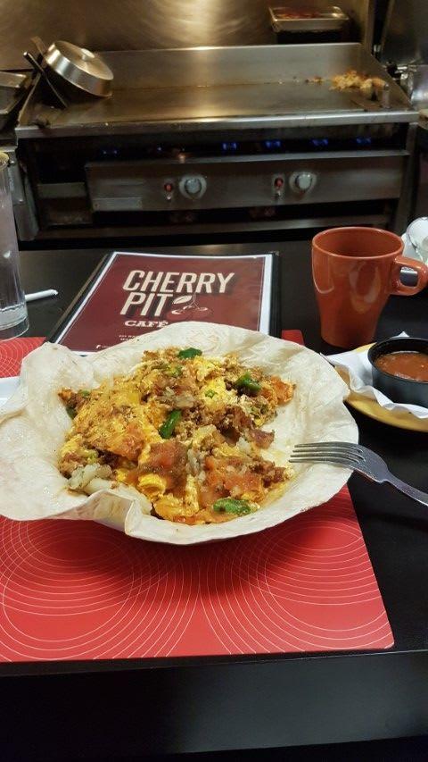 Cherry Pit Cafe skillet