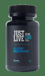 Just Live 25mg CBD Sleep Gummies