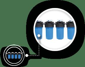 Maunawai Peka Zentralwasserfilter