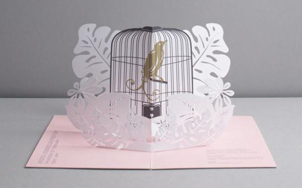 Mẫu thiệp cưới 3D