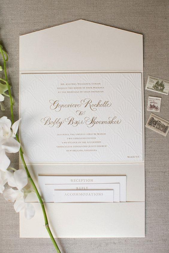 Thiệp cưới đơn giản đẹp