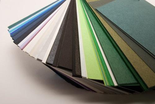 Lựa chọn chất liệu giấy