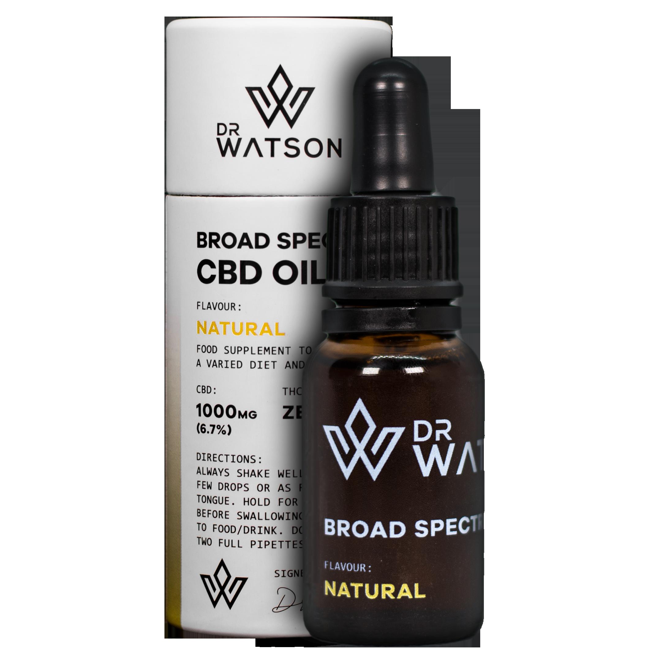 Broad Spectrum CBD Oil Supplements