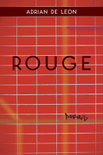 Rouge cover, a red tiled wall