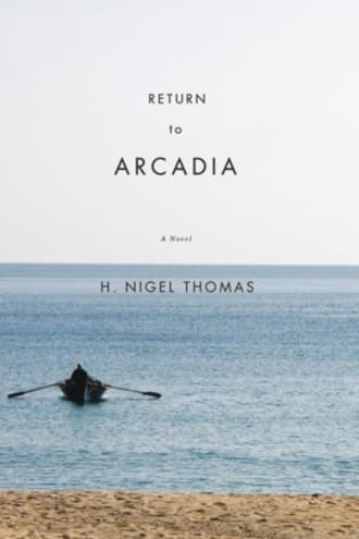 Return to Arcadia cover, a boat on a water