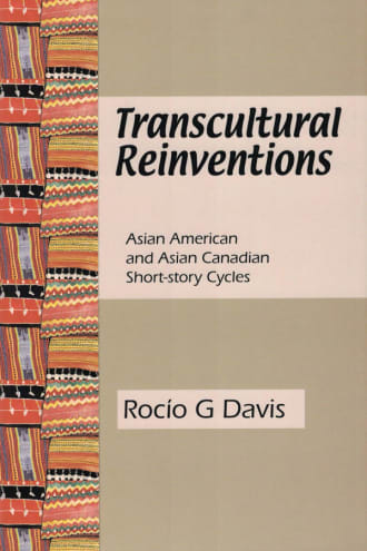 Transcultural Reinventions cover, blank text on a brown background