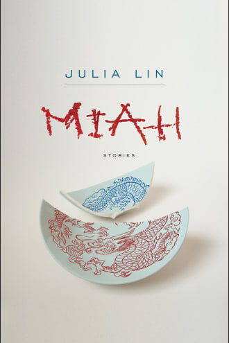 Miah cover, a broken bowl on a white background