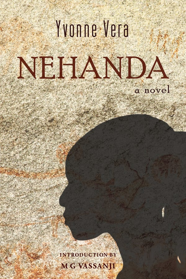 Nehanda cover, a girl's silhouette on a cave wall