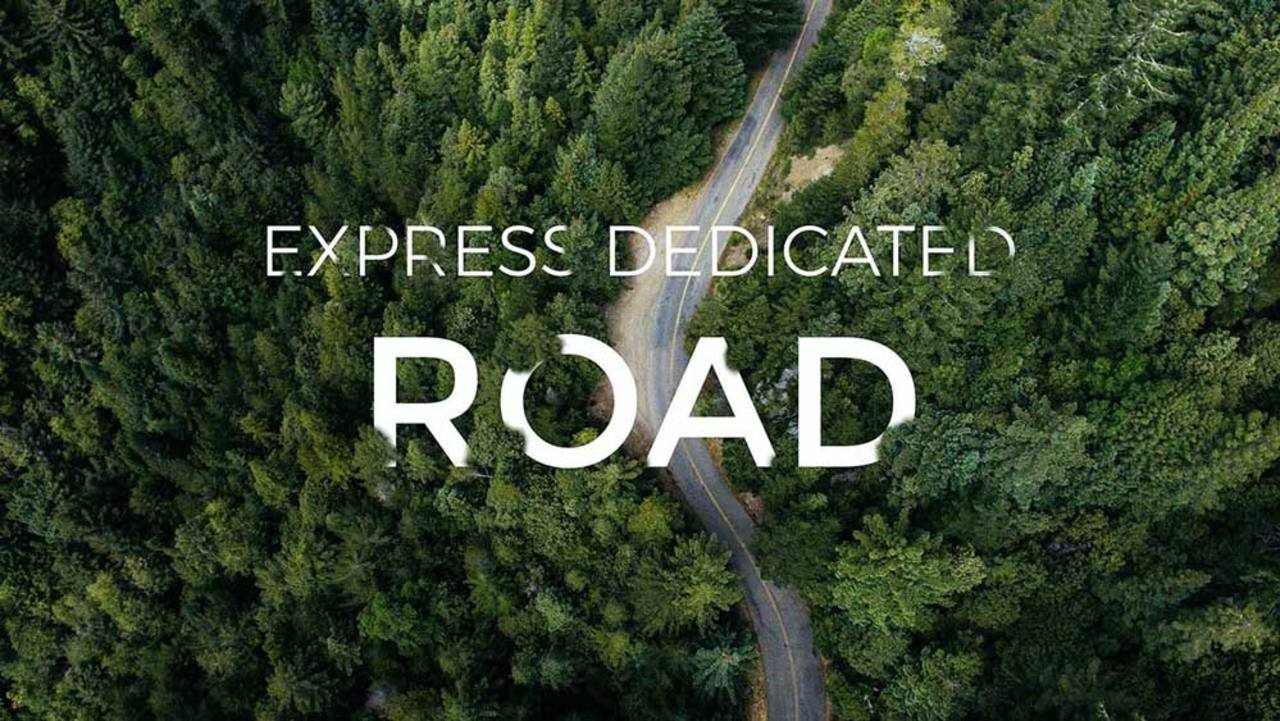 Branding image of express dedicated road service