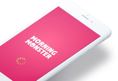 Digital Product mobile loading screen design mockup
