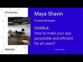 Charla de Maya Shavin de Cloudinary