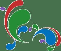 Maya Shavin's Portfolio logo - A rainbow