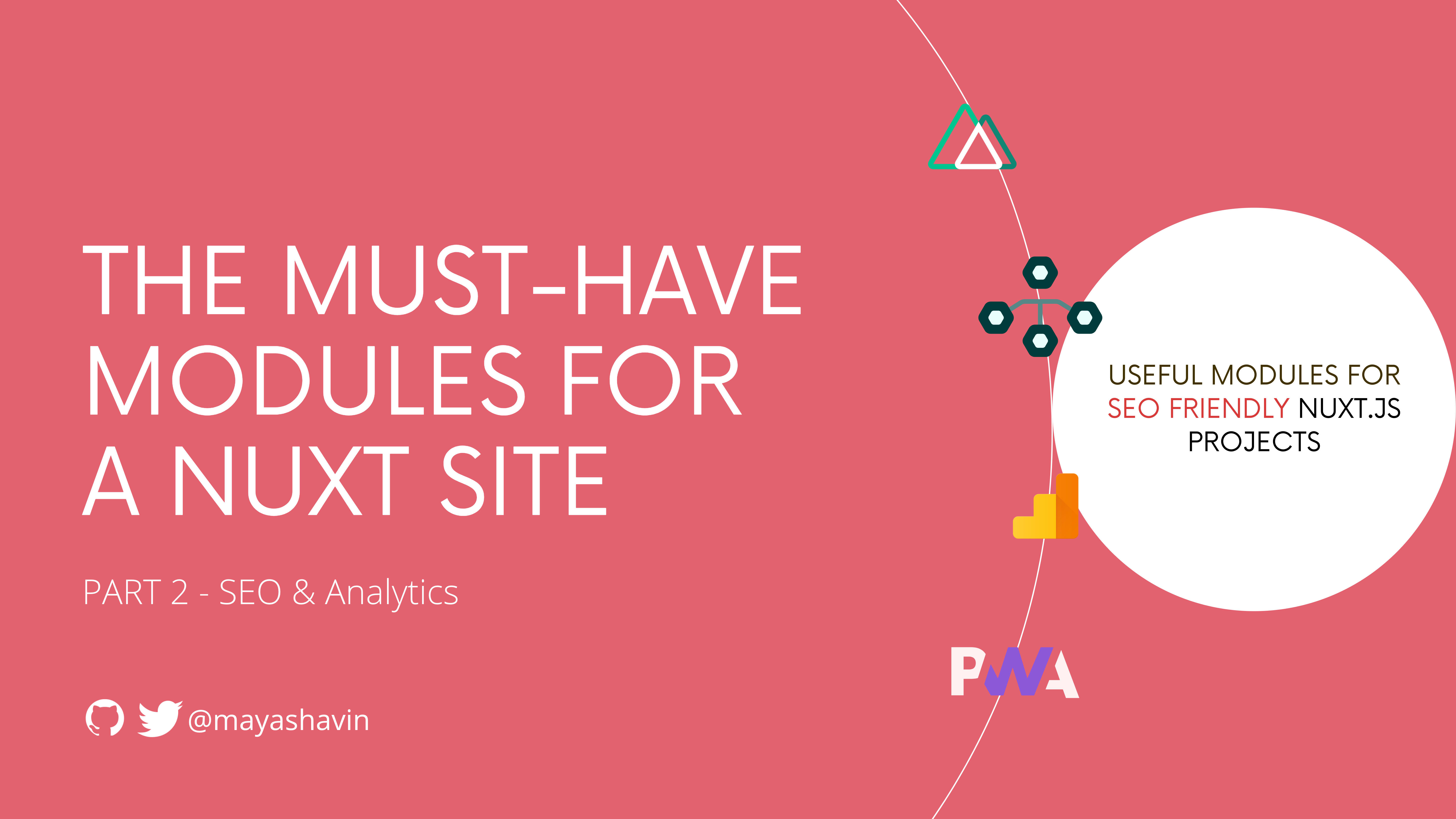 The must-have modules for a Nuxt site (p.2)