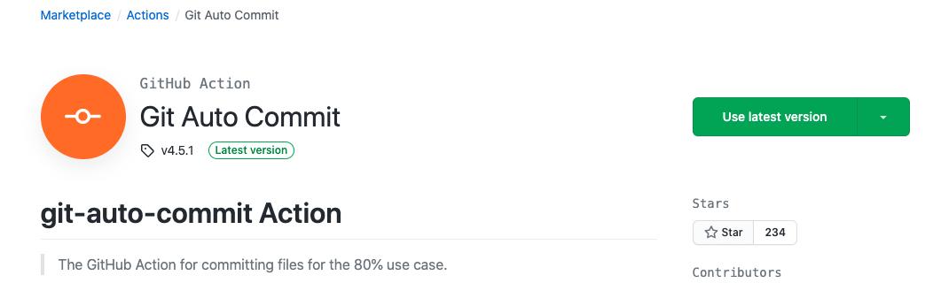 Git Autocommit Action
