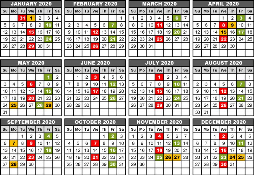 FoodShare calendar