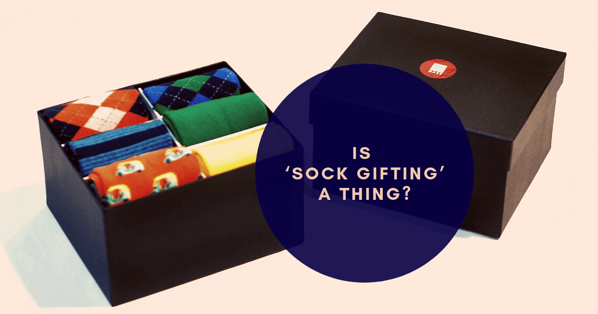Is 'sock gifting' a thing?