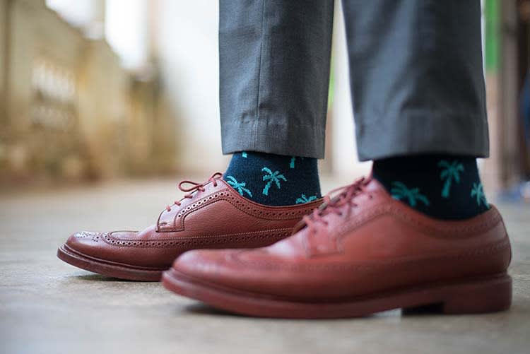 How's your sock game?