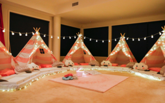 Teepee and Glamping Parties