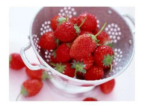 απλή μαρμελάδα φράουλας