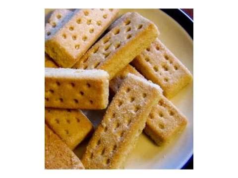 Μπισκότα βουτύρου - shortbread