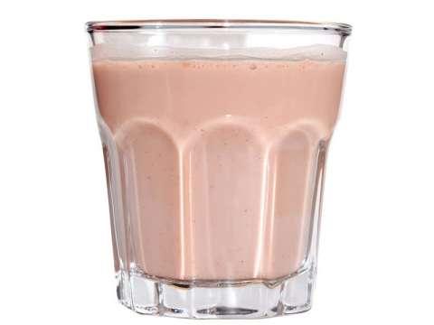 Ροζ Milkshake Καρύδας (vegan)