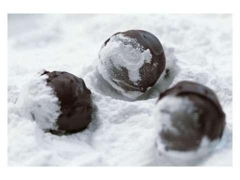 σοκολατάκια με κονιάκ και μαρασκίνο (βασική συνταγή)