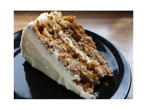 τούρτα καρότο (carrot cake)